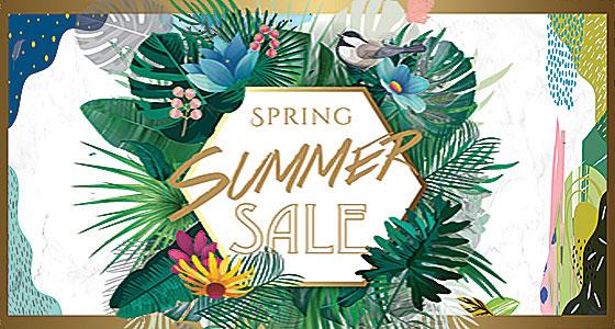 春夏品牌折扣季活动